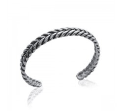 Bracelet rigide acier by Stauffer