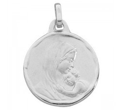 Médaille vierge or 375/1000 by Stauffer
