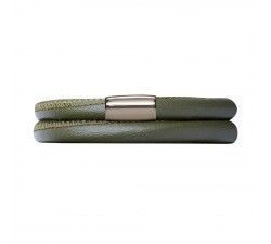 Bracelet Endless 2 rangs Vert 12102-38