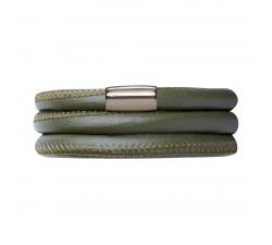 Bracelet Endless 3 rangs Vert 12102-57