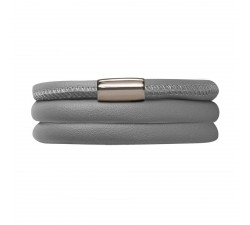 Bracelet Endless 3 rangs Gris 12103-57