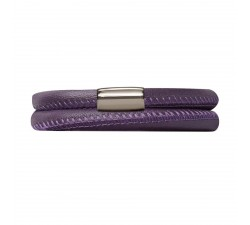 Bracelet Endless 2 rangs Violet 12106-38