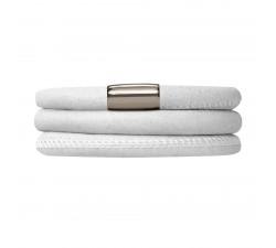 Bracelet Endless 3 rangs Blanc 12108-57