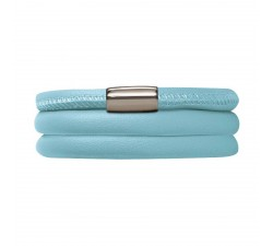 Bracelet Endless 3 rangs Light Blue 12111-60