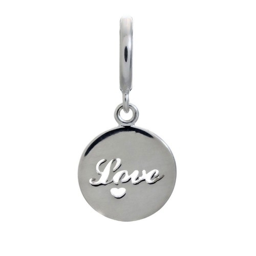 Love Coin Argent Charm Endless 43263