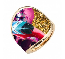 Bague Vision of space plume CHRISTIAN LACROIX X26241D