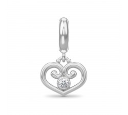 Endless Jewelry Charm Passion Heart Argent 43310