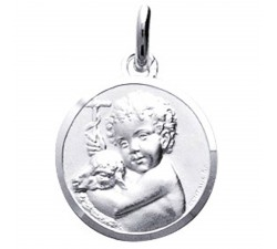 Médaille ange argent 925/1000 by Stauffer