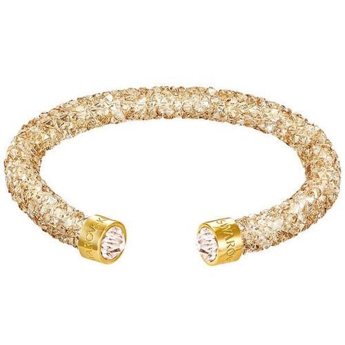Bracelet Crystaldust manchette, Golden Crystal SWAROVSKI 5250067