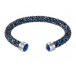 Bracelet Crystaldust manchette, Blue SWAROVSKI 5255911 (5.8/1.5 cm)