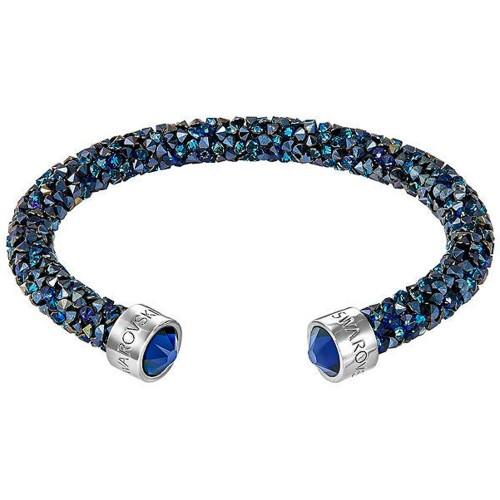 Bracelet Crystaldust manchette, Blue SWAROVSKI 5255911