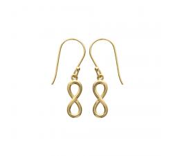 Boucles d'oreilles plaqué or jaune by Stauffer