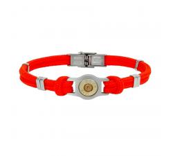 Bracelet douille et cordon Bang Bang SB007-ROUGE