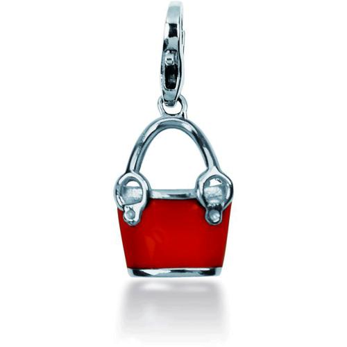 Charm Pierre Lannier JC99A123 - Charm Pendentif Sac à main Rouge Femme