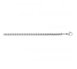 CHAINE ACIER 55 cm AVEC REGLAGE POSSIBLE A 50 cm F 1025/55