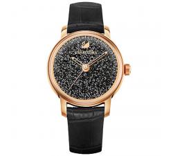 Montre Crystalline Hours, noir SWAROVSKI 5295377