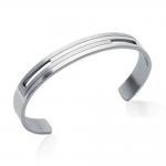 Bracelet acier rigide by Stauffer