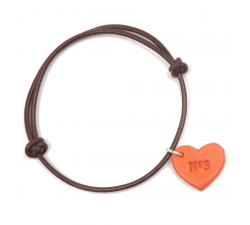 Bracelet N°3 corazones PUL0305CNRTU