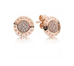 Boucles d'oreilles Signature PANDORA Rose 280559CZ