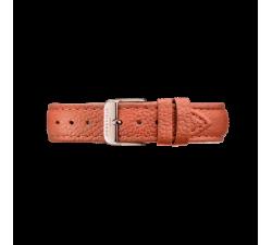 Bracelet en cuir orange Tangerine 18 mm Rosefield STRS-S143