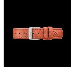 Bracelet en cuir orange Tangerine 18 mm Rosefield STSS-S145