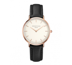 Montre femme ROSEFIELD The Tribeca blanc/noir 33 mm TWBLR - T53