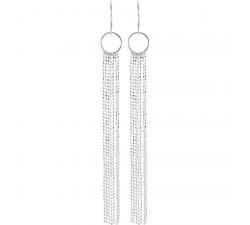 Boucles d'oreilles pendantes argent 925/1000 by Stauffer