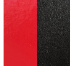 Cuir pour pendentif rectangulaire collier Les Georgettes - Rouge vernis/Noir 40 mm 703110299AO000