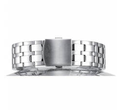 Bracelet de montre Paillasson HULL acier 26mm polis-satiné (largeur 22/28 mm) 2402000