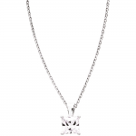 Collier argent 925/1000, oxyde de zirconium by Stauffer