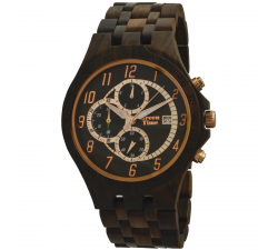 Montre bois de santal homme GREENTIME ZW070A