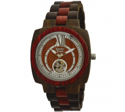 Montre automatique bois de santal homme GREENTIME ZW071B