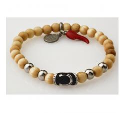 Bracelet bois wenge GREENTIME ZWB213C