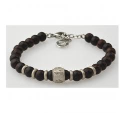 Bracelet bois wengé GREENTIME ZWB214A