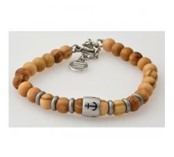 Bracelet bois zébré GREENTIME ZWB214C
