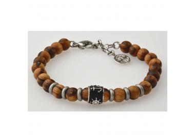 Bracelet bois zébré GREENTIME ZWB214E