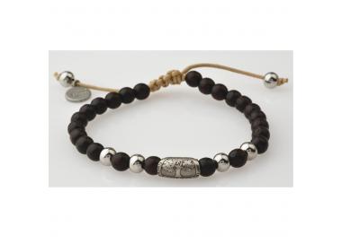 Bracelet bois wengé GREENTIME ZWB215A