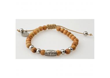 Bracelet bois d'olivier GREENTIME ZWB215B