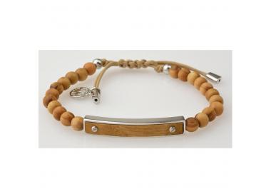 Bracelet bois d'olivier GREENTIME ZWB218B