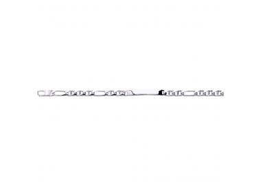 Bracelet Gourmette argent 925/1000 by Stauffer