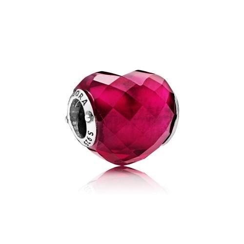 Charm Facettes de l'Amour Fuchsia Argent 925/1000 Pandora 796563NFR