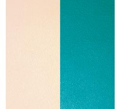 Cuir pour pendentif rectangulaire collier Les Georgettes - Nude / Aquatic 25 mm 703110199AX000