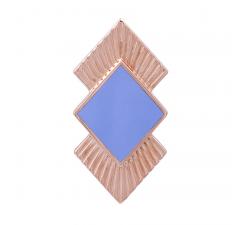 Clips Coutures Les Georgettes - doré rose et l aque lavande 40 mm 70311144013000