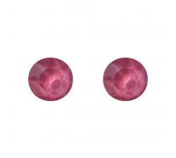 Boucles d'oreilles argent 925/1000 et Swarovski elements Indicolite PU-RON6-113
