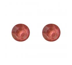 Boucles d'oreilles argent 925/1000 et Swarovski elements Indicolite PU-RON6-116