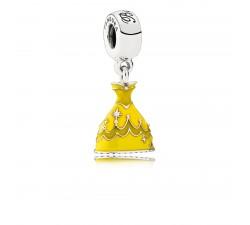 Charm Disney, Robe de Belle Argent 925/1000 Pandora 791576ENMX