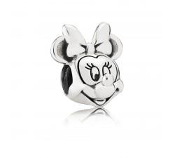 Charm Disney, Portrait de Minnie Argent 925/1000 Pandora 791587