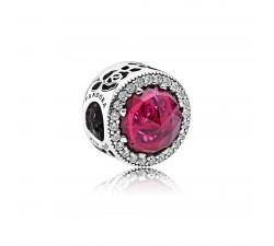 Charm Disney, Rose Lumineuse de Belle Argent 925/1000 Pandora 792140NCC