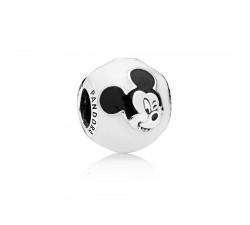 Charm Disney, Mickey Espiègle Argent 925/1000 Pandora 796339ENMX