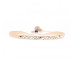 Bracelet PERLE 4 mm Les interchangeables beige163 A36977